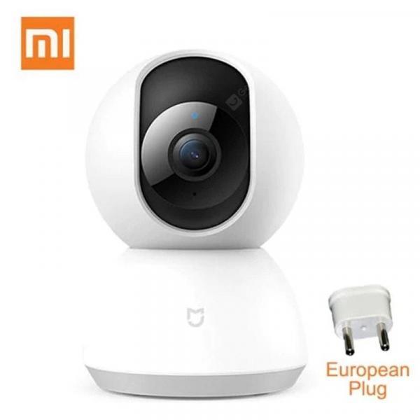 offertehitech-gearbest-Original Xiaomi Mijia Smart Camera Webcam 1080P HD WiFi Night Vision 360 Angle Baby Security Monitor