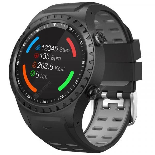 offertehitech-gearbest-SMA M1S Black Black+Grey Smart Watch Phone