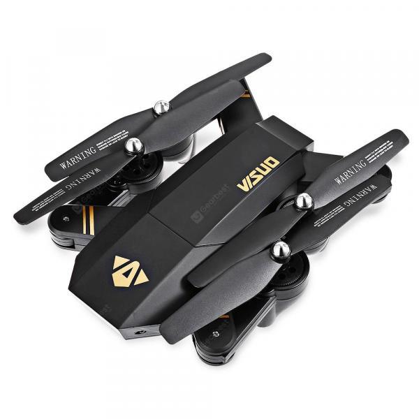 offertehitech-gearbest-VISUO XS809W Black with One Battery