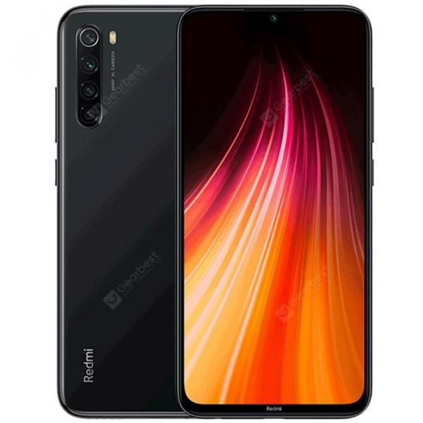 offertehitech-gearbest-Xiaomi Redmi Note 8 Black 4+64GB Cell phones