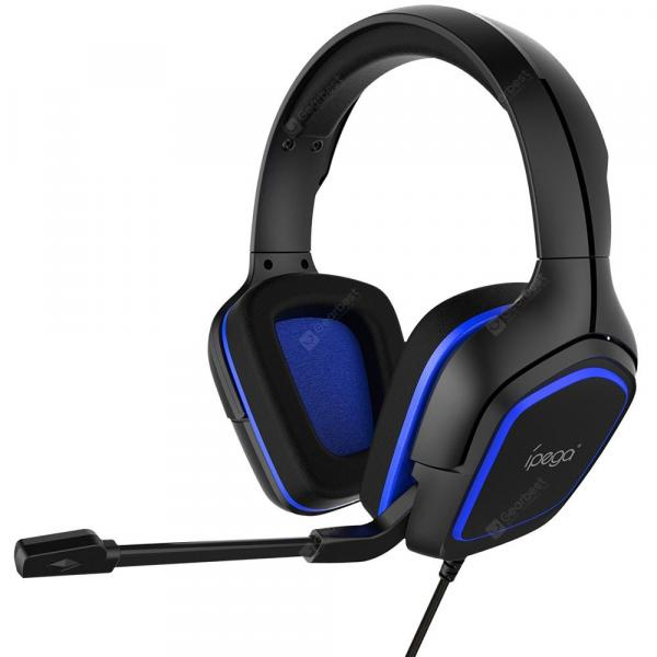 offertehitech-gearbest-iPEGA PG-R006 Professional Wired Gaming Headphone Noise Cancelling HiFi Headset with Adjustable Mic